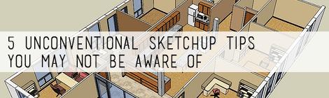 sketchup tips