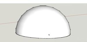 sketchup dome