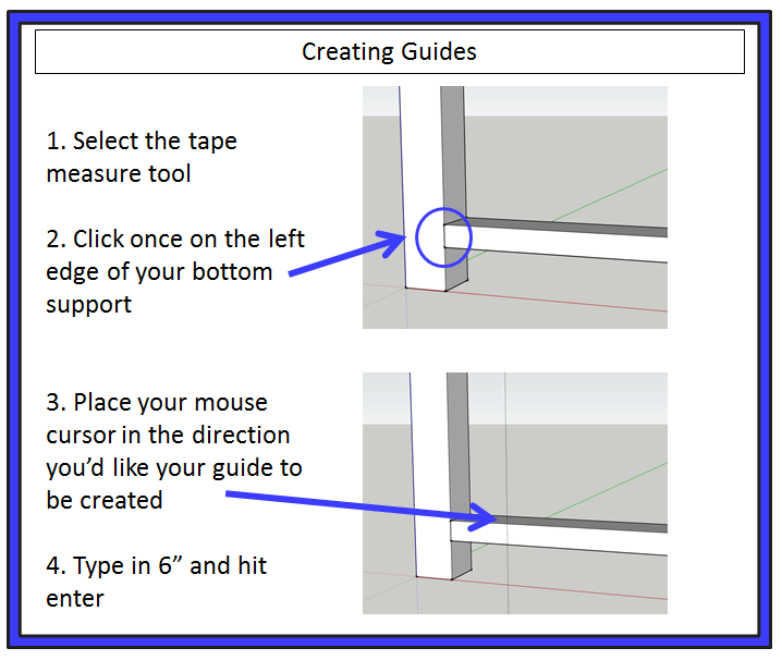 create sketchup guides