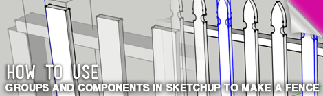 groups and components in sketchup