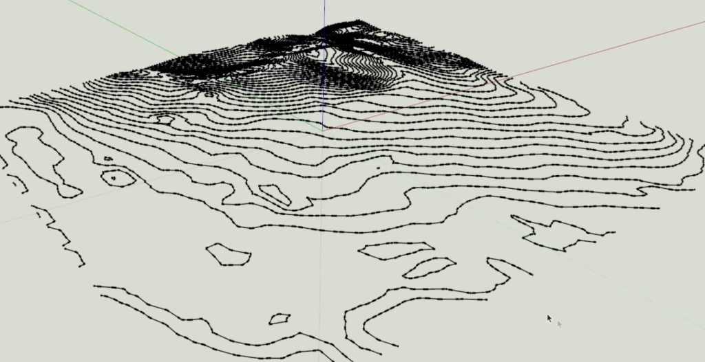 sketchup topography