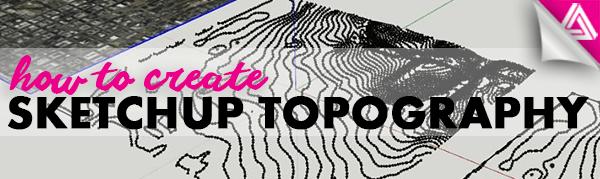 sketchup topography