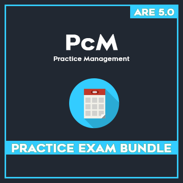 ARE PcM Practice Exam