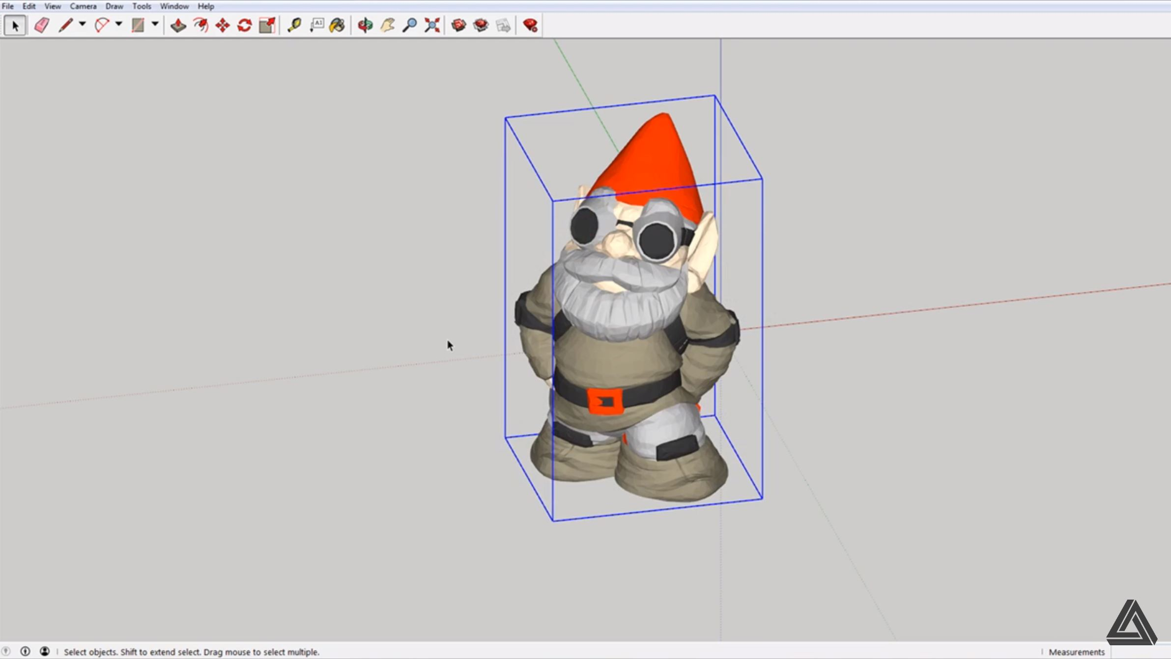 from Sketchup to STL 3D model