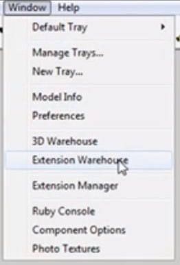 Sketchup unfold extension warehouse