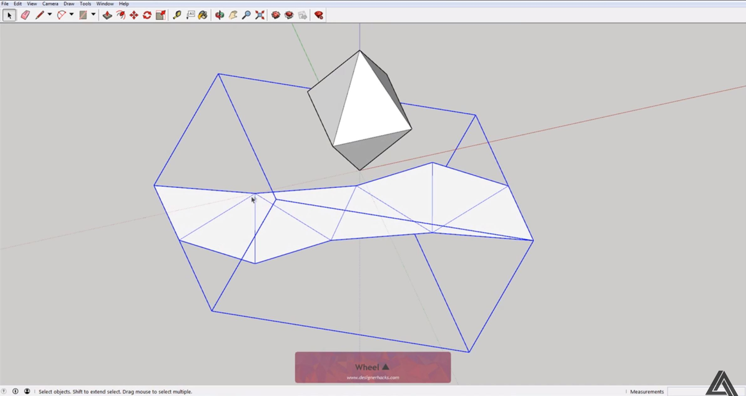 How to Unfold Faces in Sketchup Using the Sketchup Unfold Tool