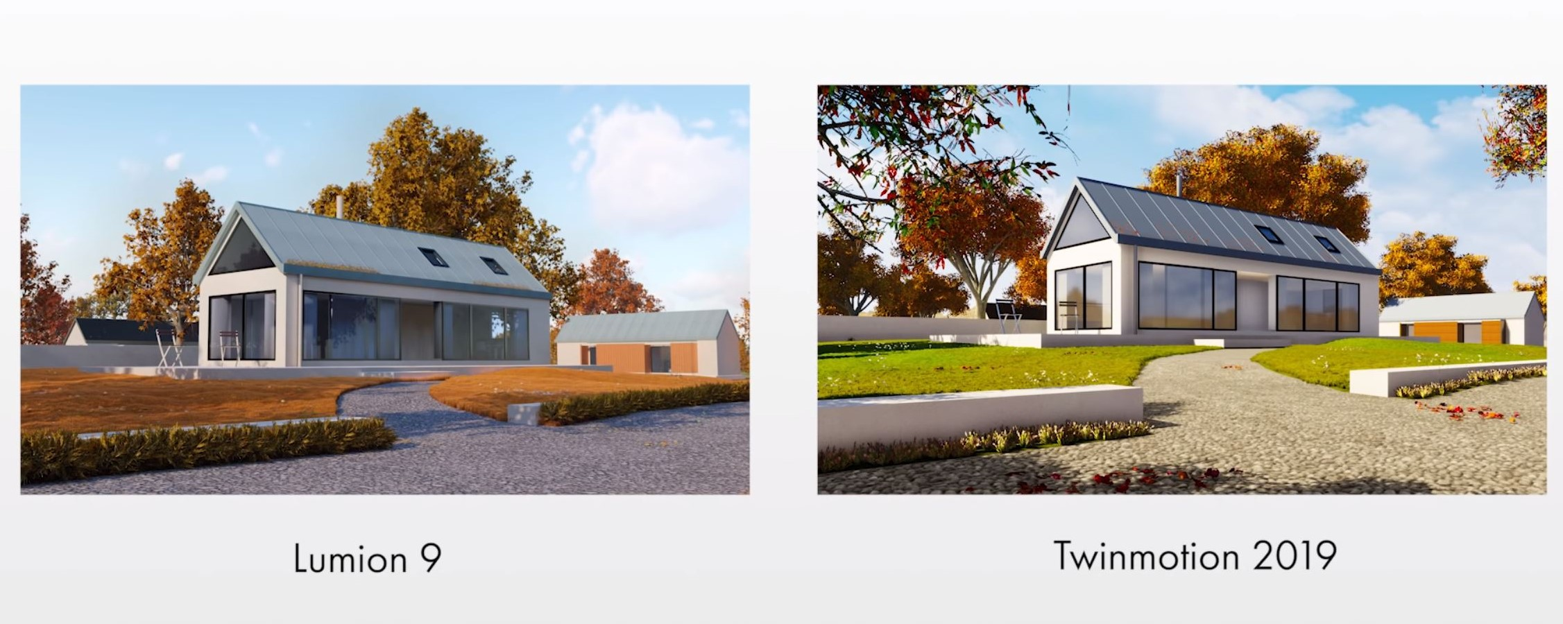 Twinmotion vs Lumion Rendering