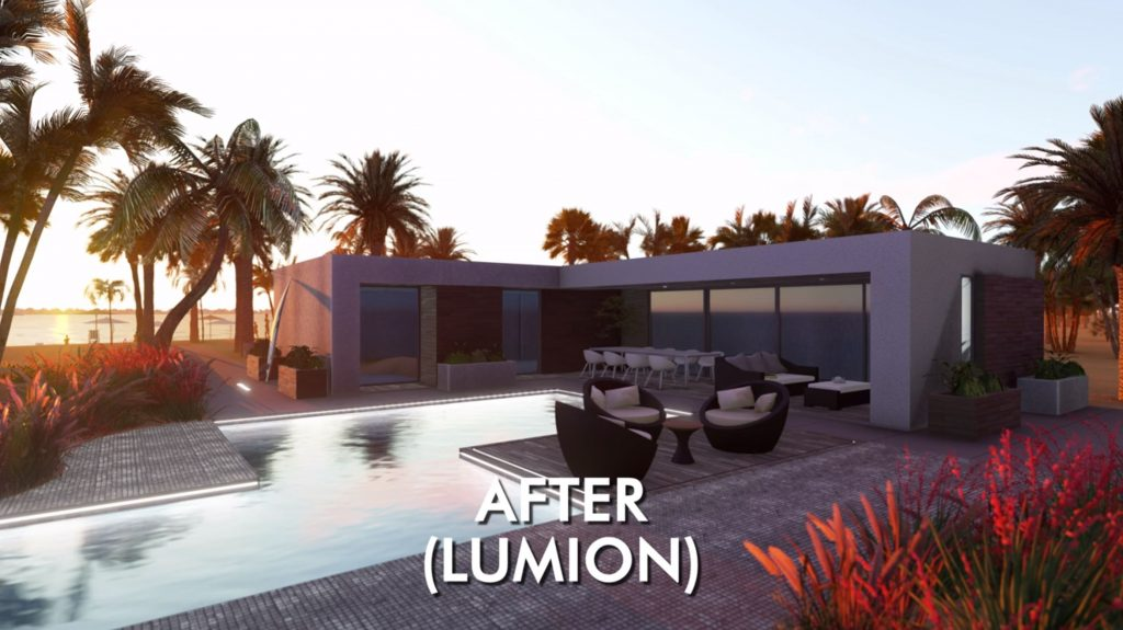 Vray vs Lumion. Lumion Rendering