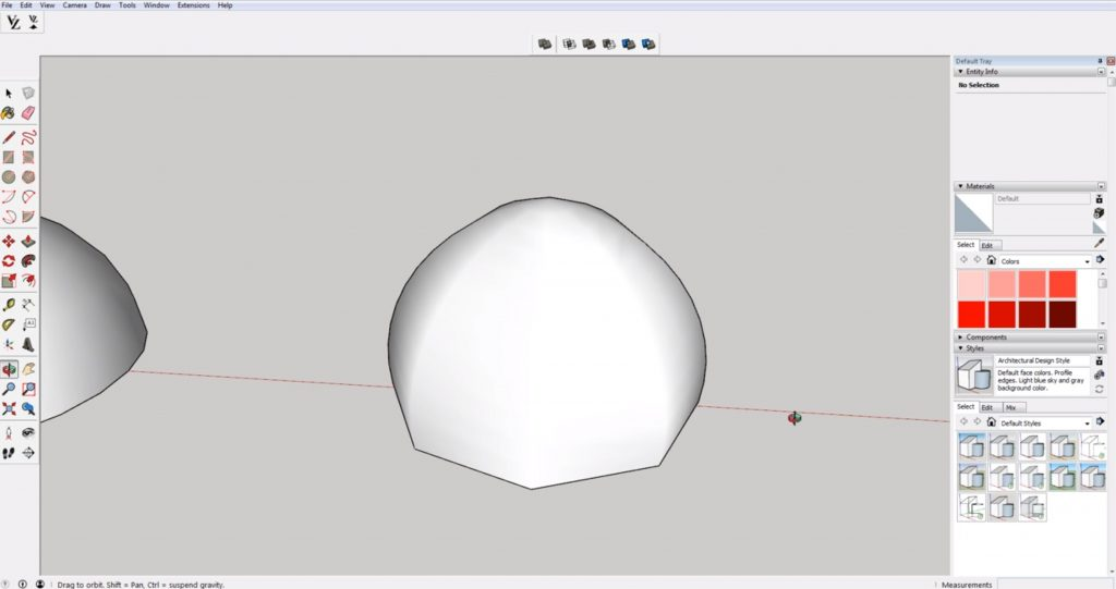 domes in Sketchup with multiple sides