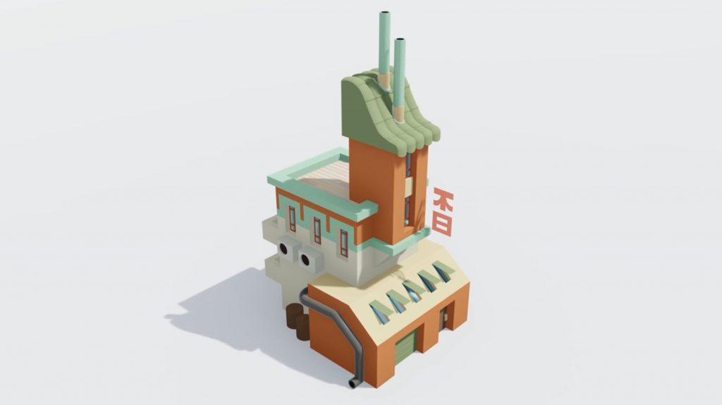 finished Sketchup speed model