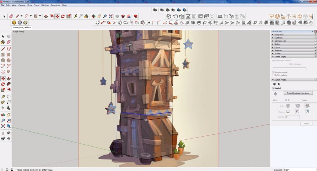 import image into sketchup speed model
