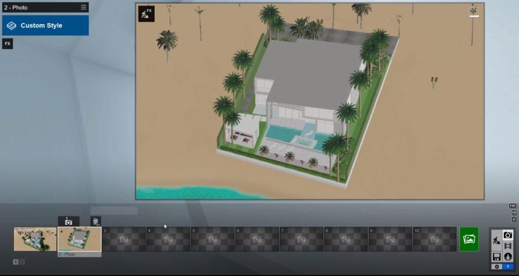 isometric rendering capture