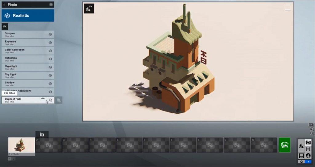 rendering Sketchup speed model in Lumion