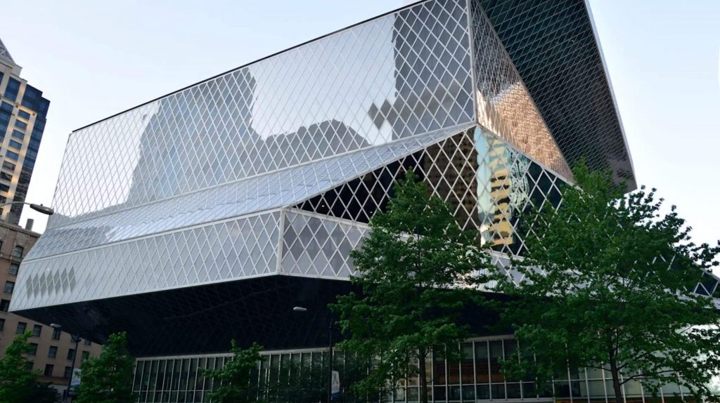 design tips: Seattle Library exterior