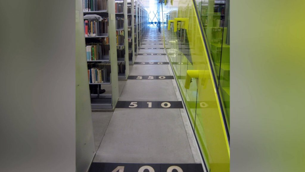 design tips: Seattle Library interior