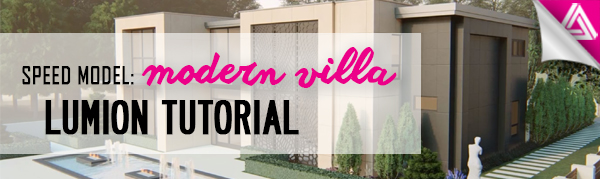Featured image_Modern Villa Lumion Tutorial