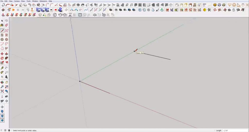 snap in Sketchup to grid
