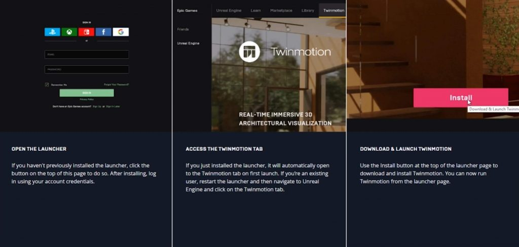 TwinMotion free download install picture