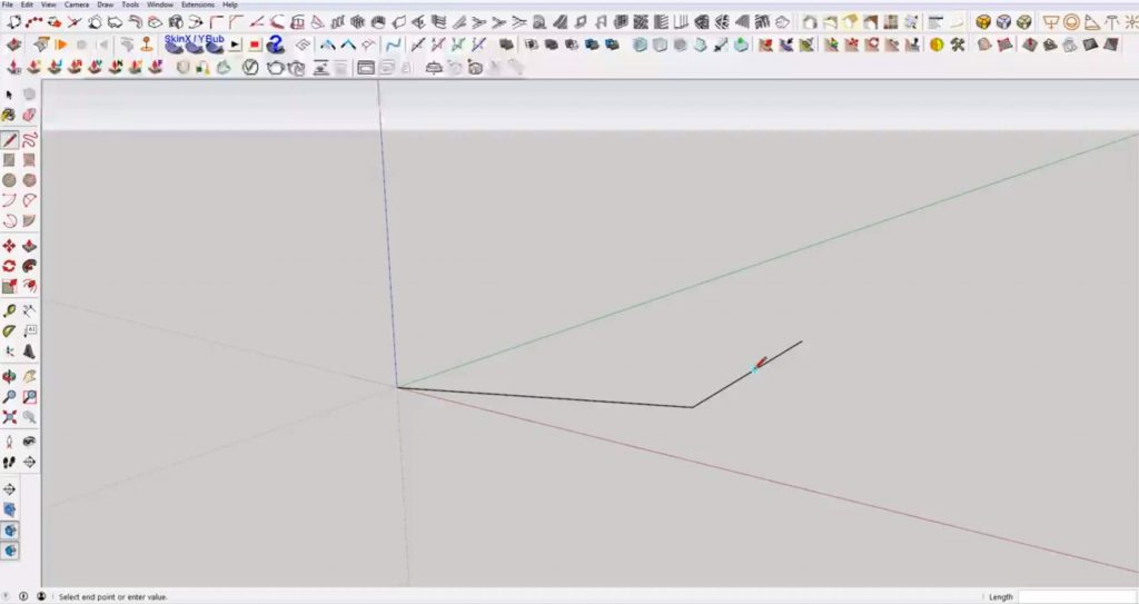 snap in Sketchup to midpoints