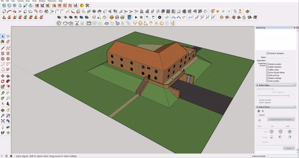 Sketchup site model 2