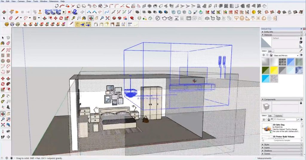 Sketchup mistakes: overstocking