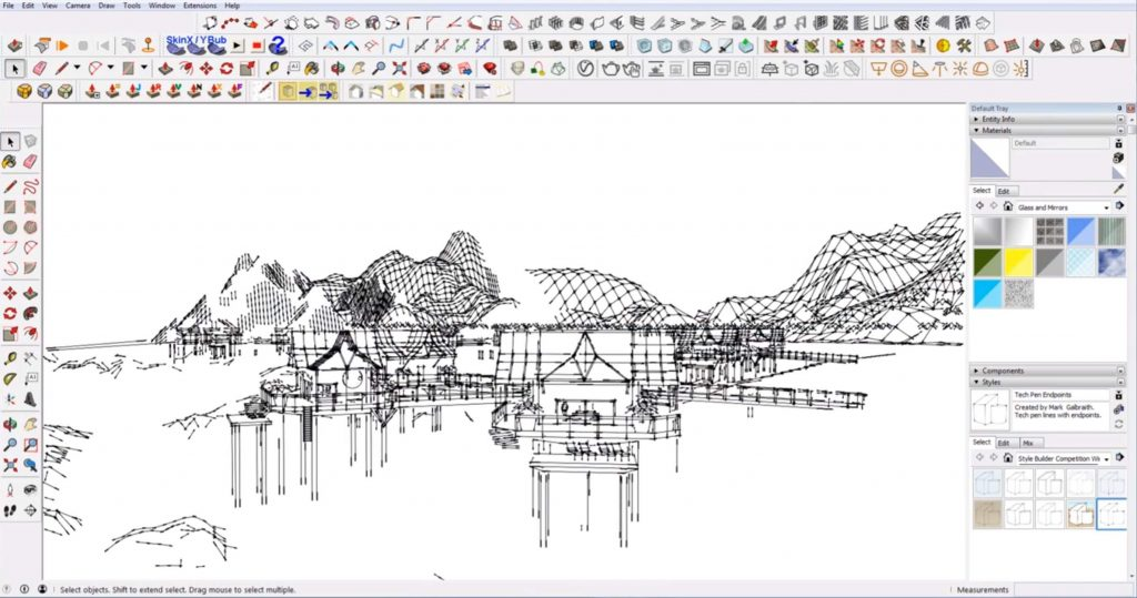 Sketchup Mistakes: getting hung up on style