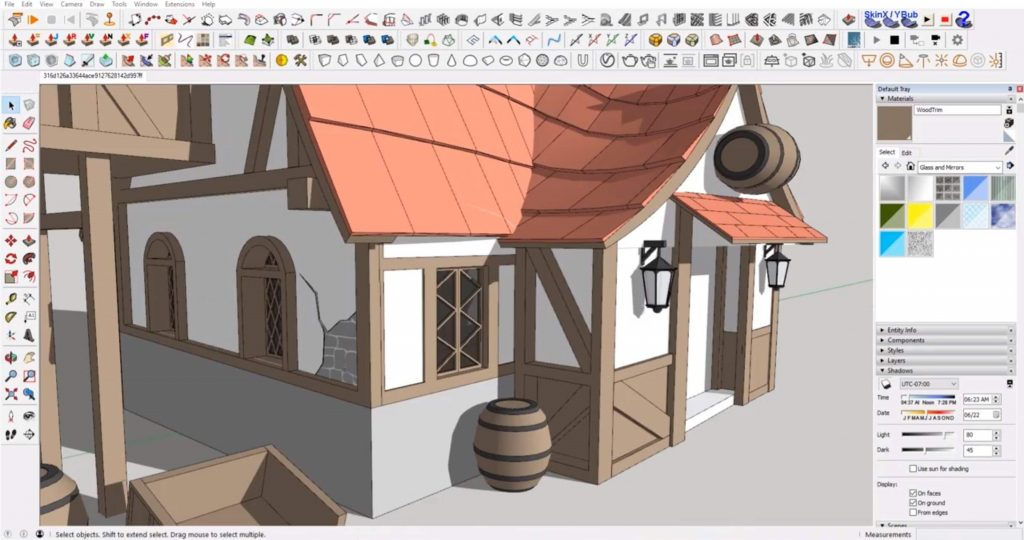 add final details to Sketchup speed model