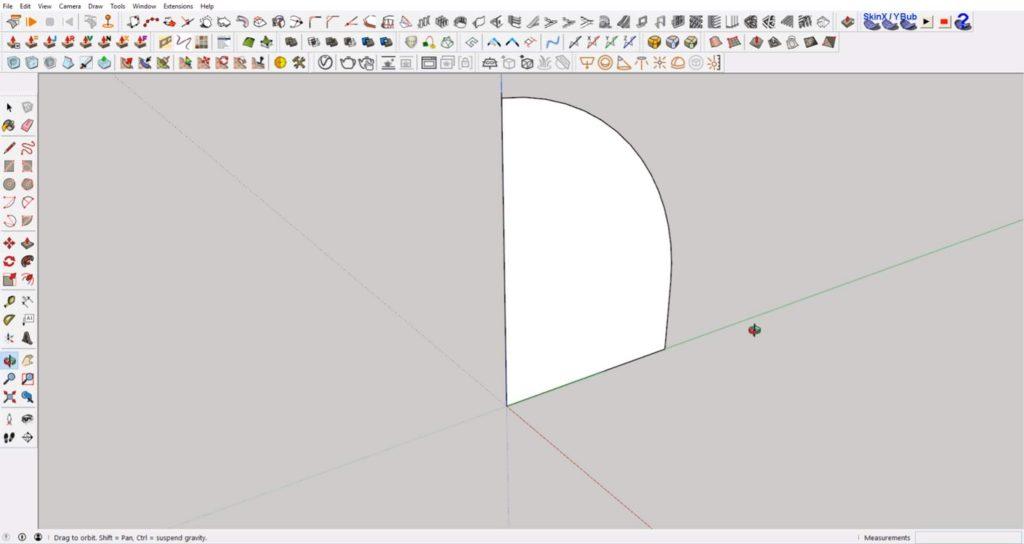 erase extra lines to create interlocking shapes