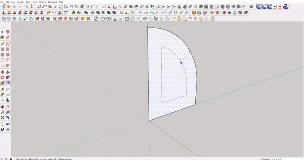 offset interlocking shapes